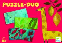 Puzzle Duo – Couleurs  -  Djeco